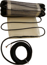 Elektrische Heizmatte für Fußbodenheizung mit Nachtstrom